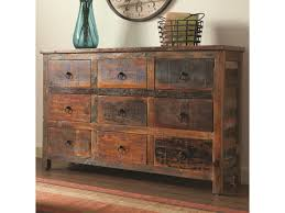 coaster accent cabinets  drawer rustic cabinet  prime brothers