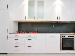 Minimalist Kitchen With Wall Cabinets Installing Wall Cabinets In