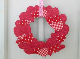 diy sbook paper valentine s day wreath