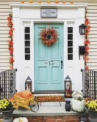 Add some large pots that will co ordinate with the color you choose. Turquoise And Blue Front Doors With Paint Colors House Of Turquoise