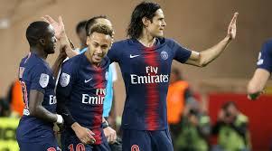 Monaco 0, PSG 4: Cavani hat trick pads Ligue 1 lead - Sports ...