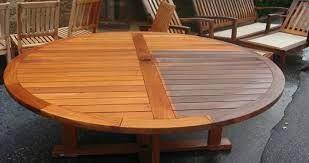 stain your teak furniture diy crafts