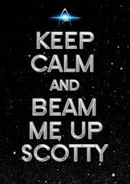 Beam me up Scotty. (*Now Scotty, please!_LL)   Star trek, Star trek  universe, Star trek original series