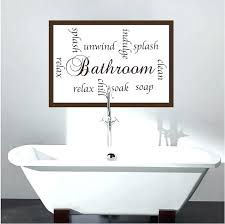 stickers for bathroom walls wall decals es