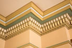 palace home wall arch ceiling pattern green column color facade property church room yellow decor material interior design carpenter