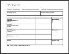25 Best Lesson Planning Images On Pinterest | Lesson Plan Binder ...