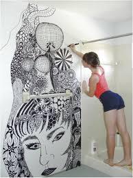 Painting In Bathroom Painting Tile In Bathroom Delonhocom