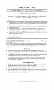 Awesome Lpn Resume Sample 9 Sample Of Resume For Job