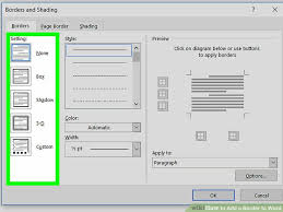 How To Add A Border To Word With Pictures Wikihow