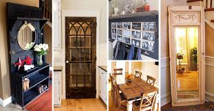 33 artistic and practical repurposed old door ideas