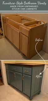 bathroom cabinet redo. Simple Bathroom Bathroom Vanity Before And After Throughout Bathroom Cabinet Redo N