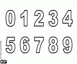 Kleurplaat De Cijfers 0 Tot 9 Kleurplaten