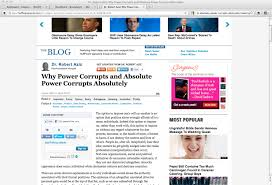 absolute power corrupts absolutely essay f f info