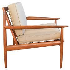 arne vodder for glostrup teak lounge chair for