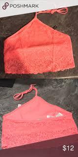 Orange Victorias Secret Pink Bra Bralette Xs 1 Nwt