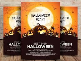 Free Halloween Flyer Psd Template Fluxes Freebies