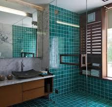 Bathroom colour trend: teal
