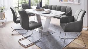 Esstisch Stühle Grau