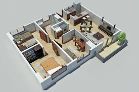 Large Family House Plans With Multi Modern Feature   HomesCorner ComCompact Size Large Family House Floor Plans Pictures