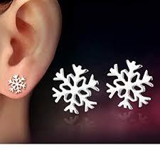 MANDI HOME <b>New</b> Women <b>Fashion</b> 925 Sterling Silver <b>Snowflake</b>…