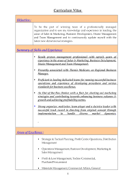 Examples Of Resumes Simple Resume Sample A Example In 93
