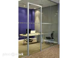 30 00 to 30 30 fire rated frameless glass partitioning
