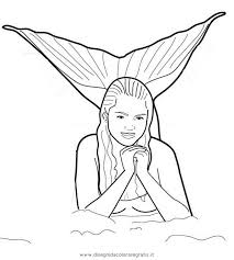 Small Picture H2O Mermaid Coloring Pages Print Coloring H2O Mermaid Coloring