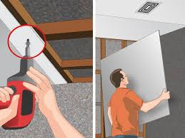 how to hang sheet rock how to install ceiling drywall 14 steps with pictures wikihow