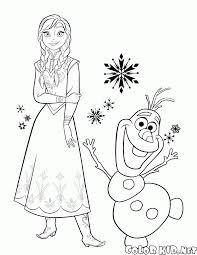 Disegni Da Colorare Anna E Olaf