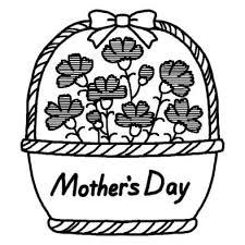 母の日の白黒イラスト素材 Naver まとめ