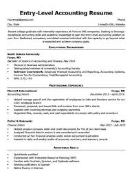 Sample Cover Letter For Entry Level Entry Level Accounting Cover Letter Tips Resume Companion