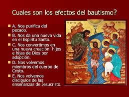 efectos del bautismo catecismo de la iglesia catolica