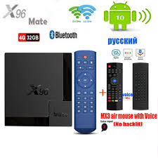 <b>X96 Mate</b> Android 10 Smart TV Box Allwinner <b>H616 Quad Core</b> 4G ...