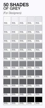 Le 50 Sfumature Di Grigio Esistono Davvero Colori Pinterest Shades