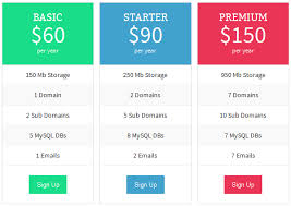 Table Chart Design Design A Professional Comparison Chart Pricing Table Within