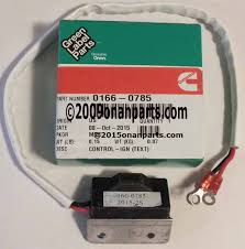 onan ignition 166 0785 new ignition module p series