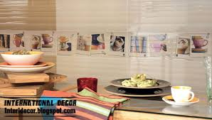 Kitchen Wall Tiles Design And Kitchen Cabinet Designs Together With  Marvelous Views Of Your Kitchen Followed By Charming Environment 38 Photo Gallery