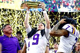 lsu smothers clemson 42 25 to seize