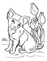Small Picture dog color pages printable Puppy Coloring Pages Free Printable