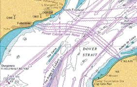 Dover Strait Chart Big Ricks Swim Team Tides And Navigation