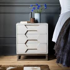 Hex Bedside Chest of Drawers ...