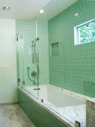 green floor tiles bathroom wall installation a lush surf green glass subway tile in surf bathroom