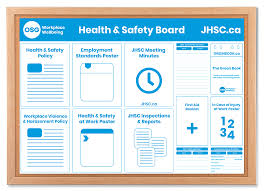 Informational Poster Sample Layout Health And Safety Board Poster Template Osg
