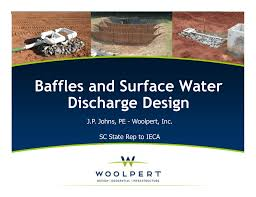 Sediment Basin Design Spreadsheet Baffles And Surface Water Discharge Design