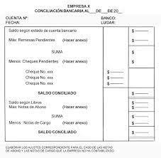 Conciliacin Bancaria La Contabilidad Conciliacion Bancaria