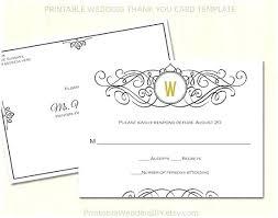 Free Printable Wedding Rsvp Cards Zbiztro Com