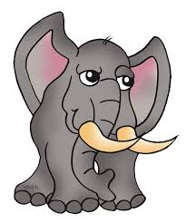 elephant clipart for kids.  Clipart Elephant Clipart For Kids  Library  Free Images Throughout A