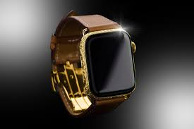 24ct gold apple watch series 4 hermes edition