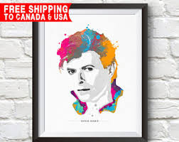 Small Picture David bowie art Etsy