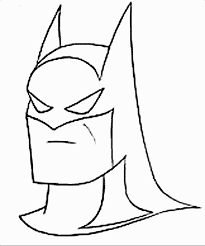 Small Picture Batman Cartoon Template Coloring Coloring Pages